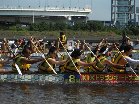 KIXドラゴンボート大会