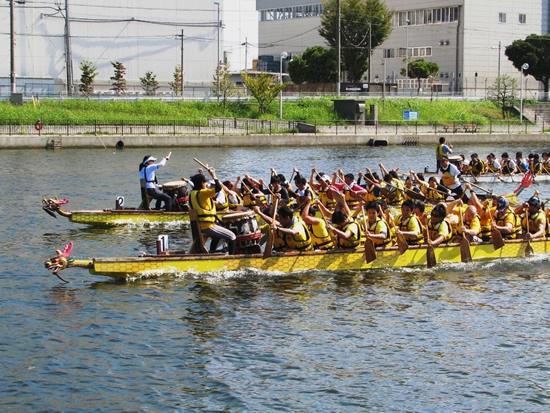 中川運河ドラゴンボート大会